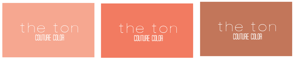 Couture Color - Coral Collection