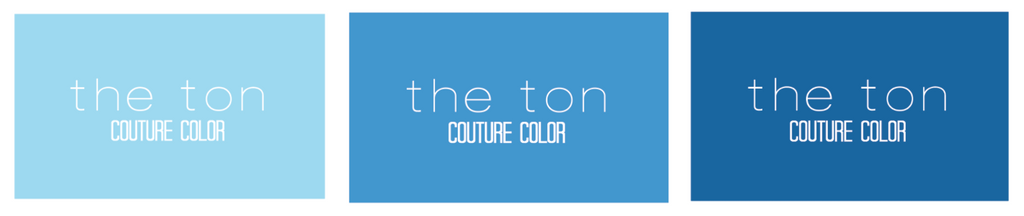 Couture Color - Sky Blue Collection