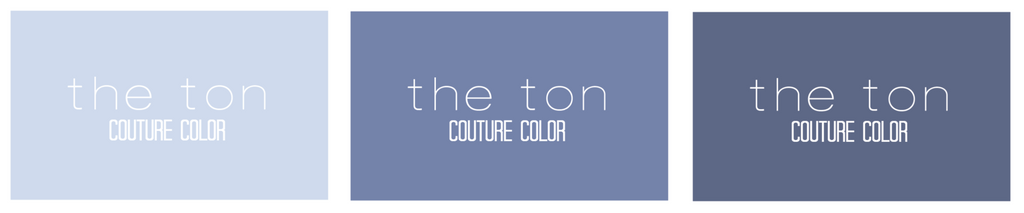 Couture Color - Dusty Blues Collection