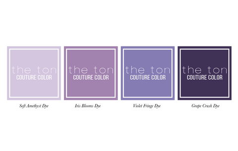 Couture Color - Amethyst Minis