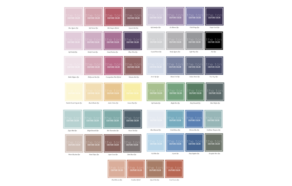 Couture Color Minis (Original Hues)