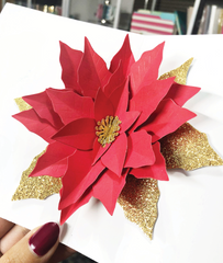 Pop-Up Poinsettia Standalone Dies