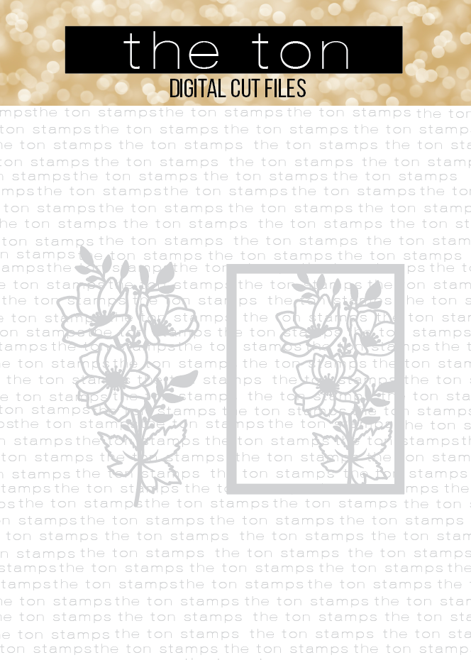 Anemone Bunch Coverplate Bundle SVG Cut File
