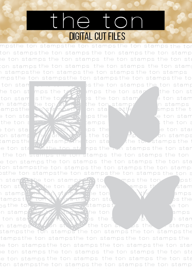 Monarch Butterfly Coverplate Bundle SVG Cut File