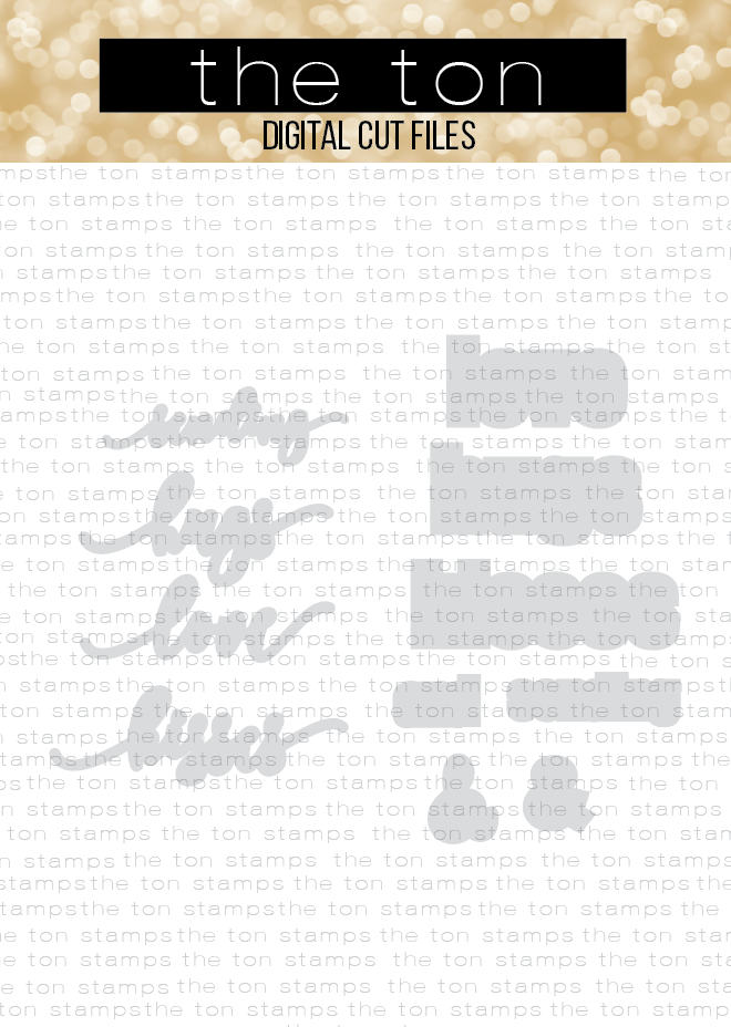 Love and Hugs Die Collection Coordinating Cut File