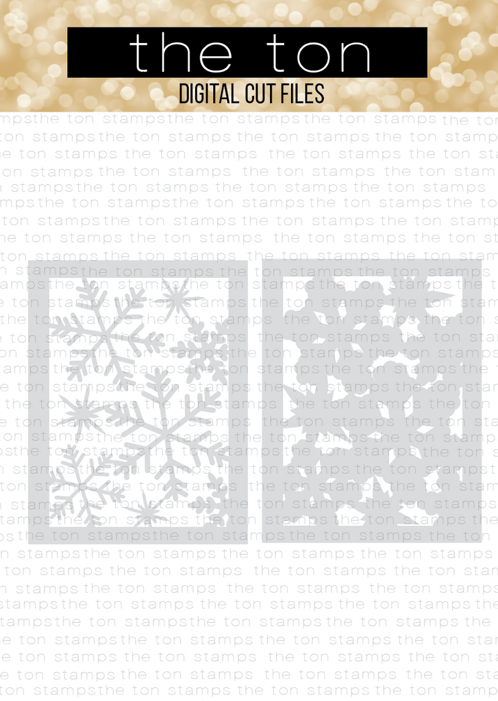 Snowflake Layering Coverplate SVG Cut File