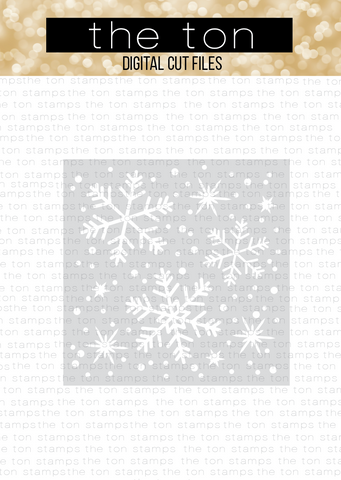 Snowflake Stencil SVG Cut File
