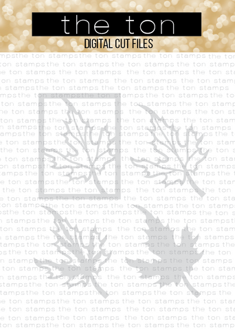 Layered Leaf Coverplate SVG Cut File