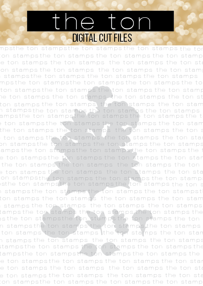 Charmed Wildflowers SVG Coordinating Cut File