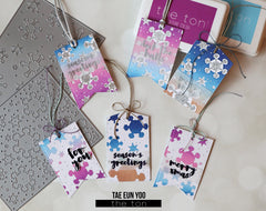 Holiday Chic Tag Coordinating Dies