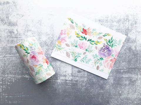 Washi Tape - Wildflowers