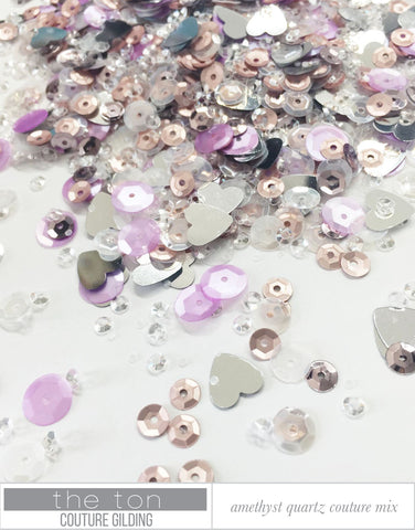 Amethyst Quartz Couture Mix