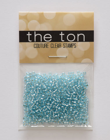 Aquamarine Seed Beads