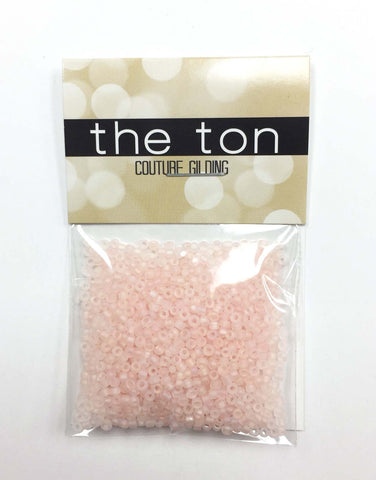 Baby Peach Matte Seed Beads