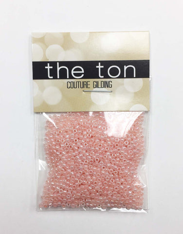 Blush Peach Pearl Seed Beads