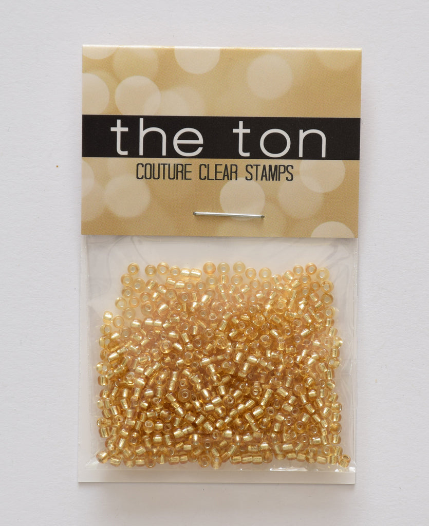 Bright Gold Seed Beads