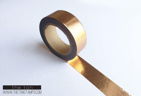 2. Burnished Rose Gold Foil Tape