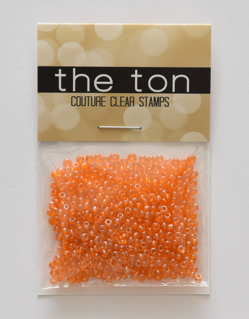 Burnt Orange Seed Beads