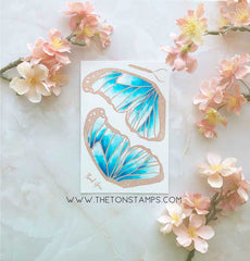 Butterfly Wings - Morpho