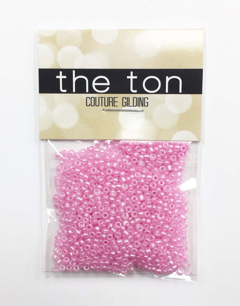Candyland Pink Seed Beads
