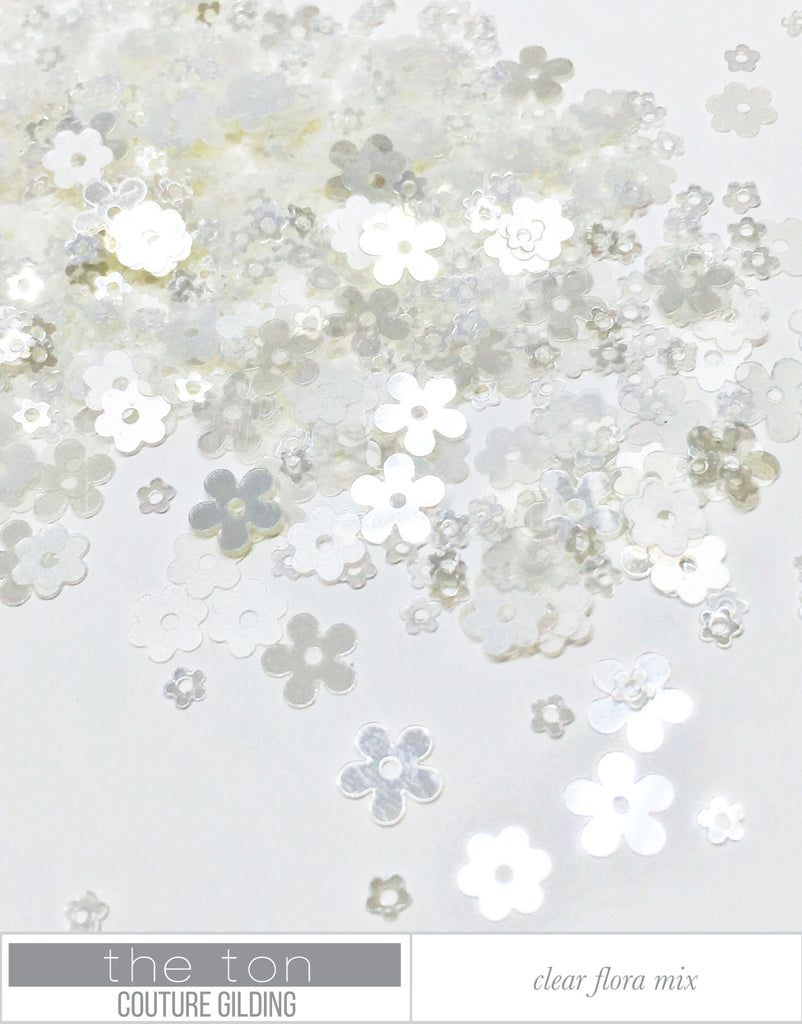 Clear Flora Couture Mix