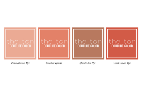 Couture Color - Coral Minis
