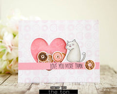 Doughnut Party Cling Background