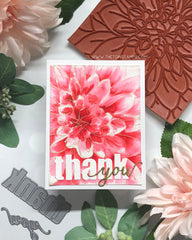 Dahlia Close Up Cling Background