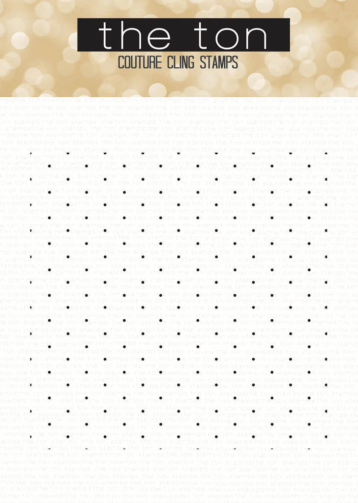 Delicate Polka Dots Cling Background