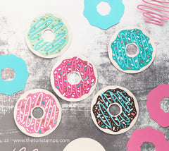 Buildable Donut SVG Cut File