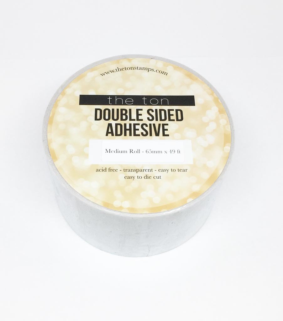 4. Double Sided Adhesive - Medium Roll