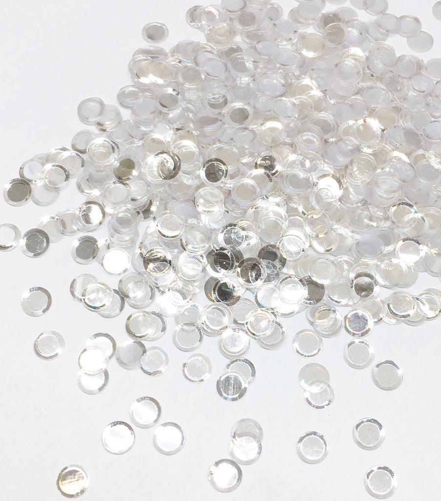 1. Glass Slippers Round Confetti - 6, 5, 4mm, Mixed