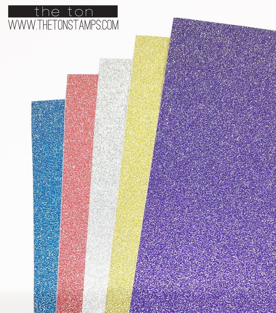 Adhesive Glitter Paper - Mixed
