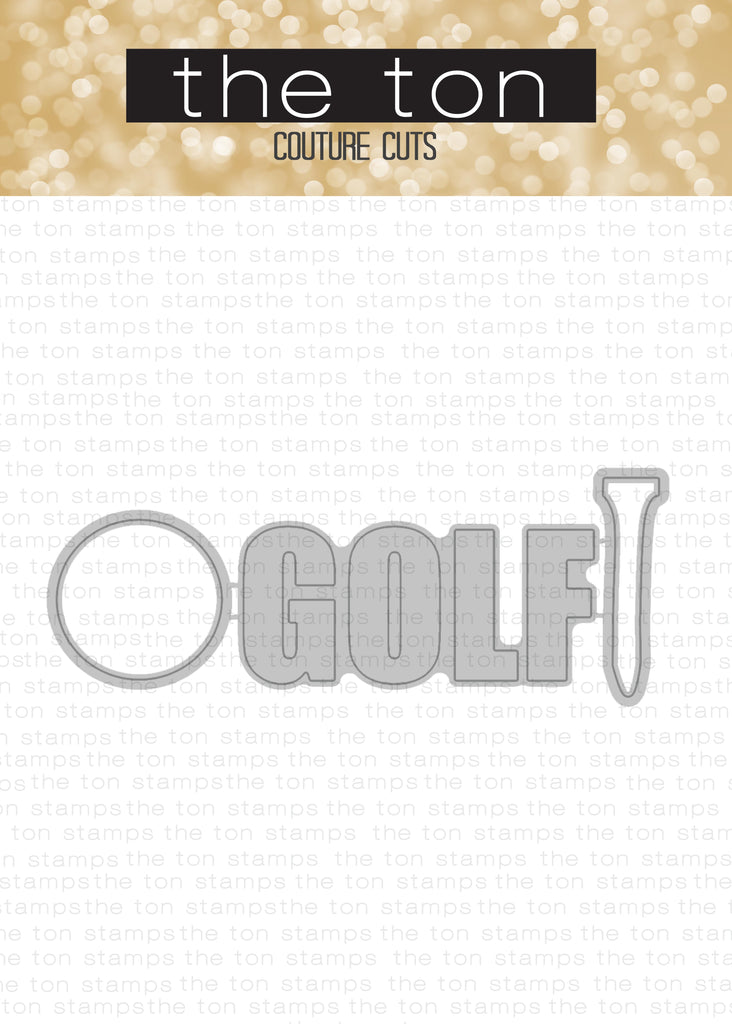 Golf Therapy Coordinating Dies