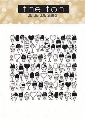Ice Cream Party Cling Background