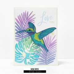 Hummingbird Layering SVG Cut File