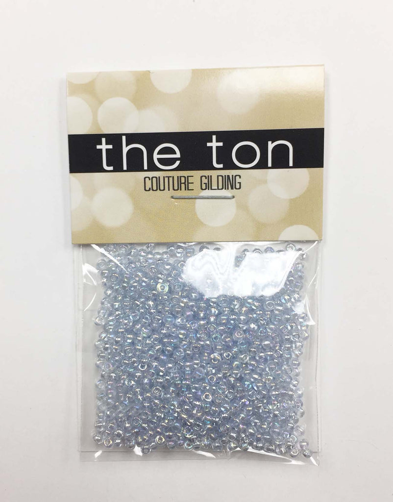 Light Blue Opal Seed Beads