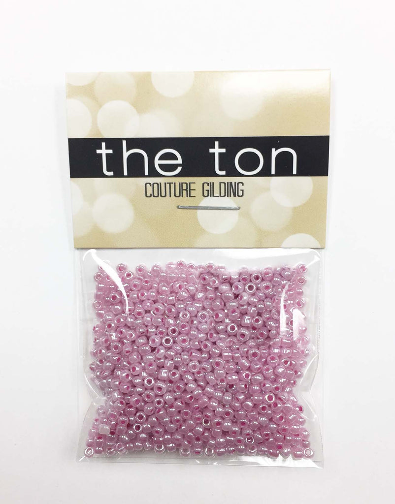 Light Rose Pearl Seed Beads