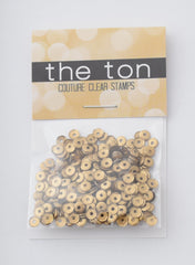 Matte Gold Sequins - 10, 8, 6, 5, 4mm, MIXED