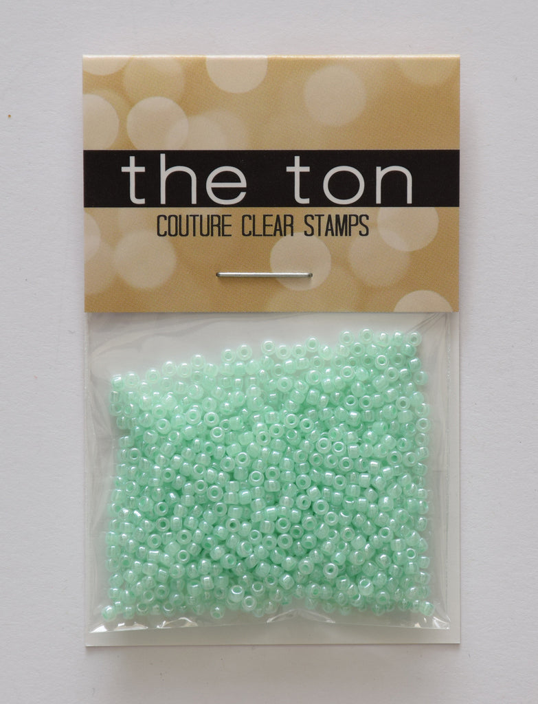 Mint Pearl Seed Beads