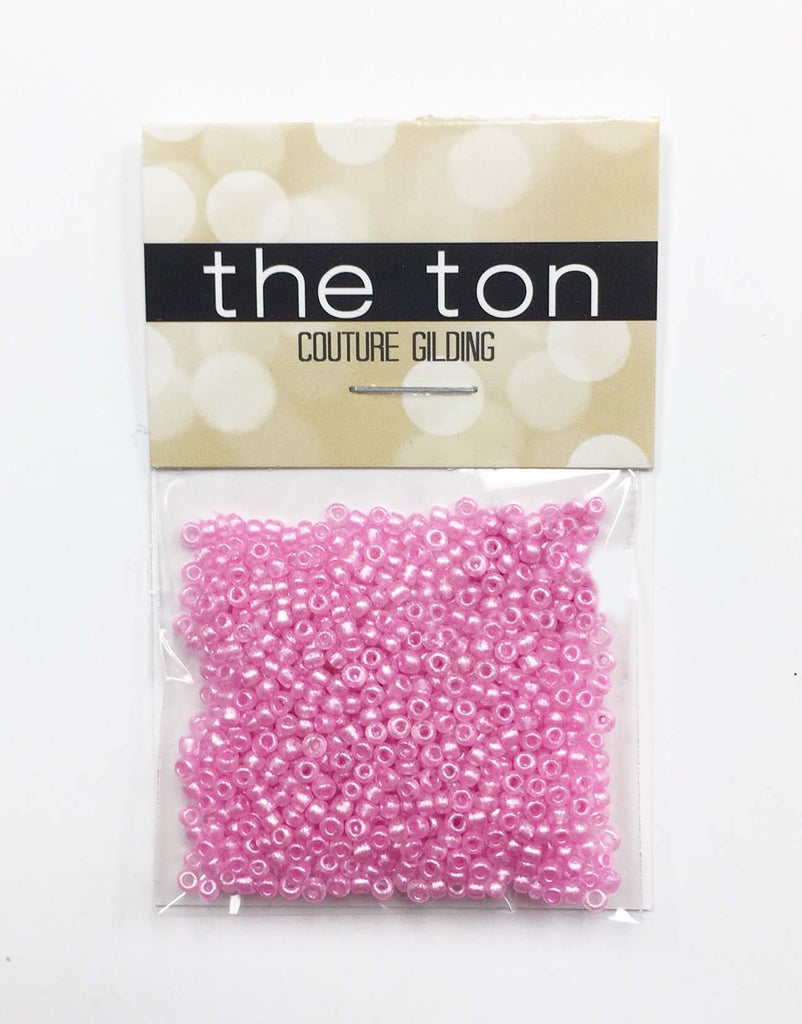 Pink Jubilee Seed Beads