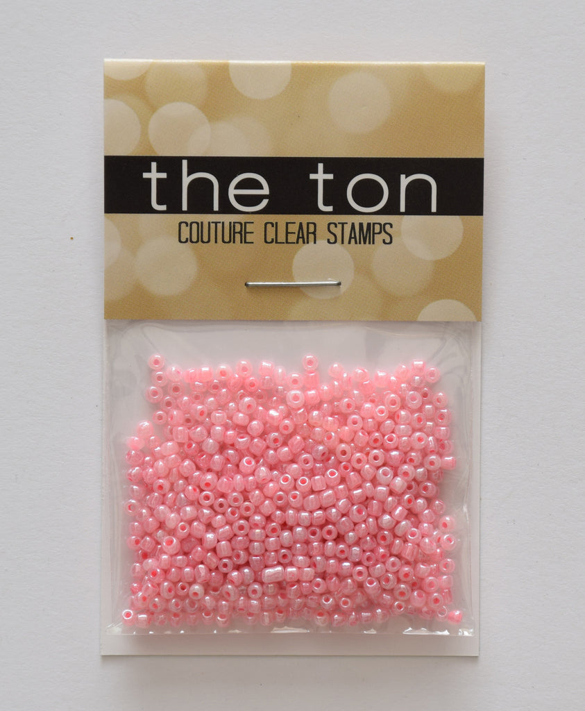 Pink Pearl Seed Beads