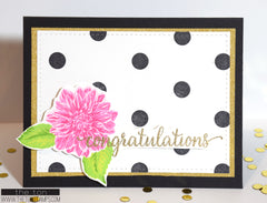 Polka Dot Cling Background