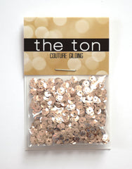 Rose Gold Sequins - 4mm