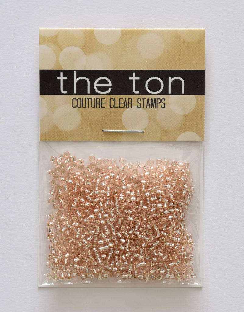 Rose Gold Seed Beads