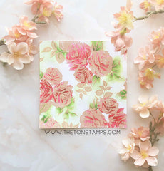 Rose Terrace Cling Background