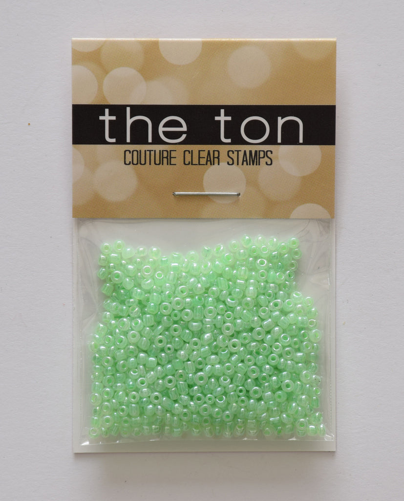 Sea Foam Pearl Seed Beads