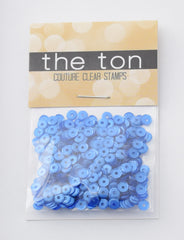 Midnight Blue Sequins - 10, 8, 6, 5, 4mm, Mixed