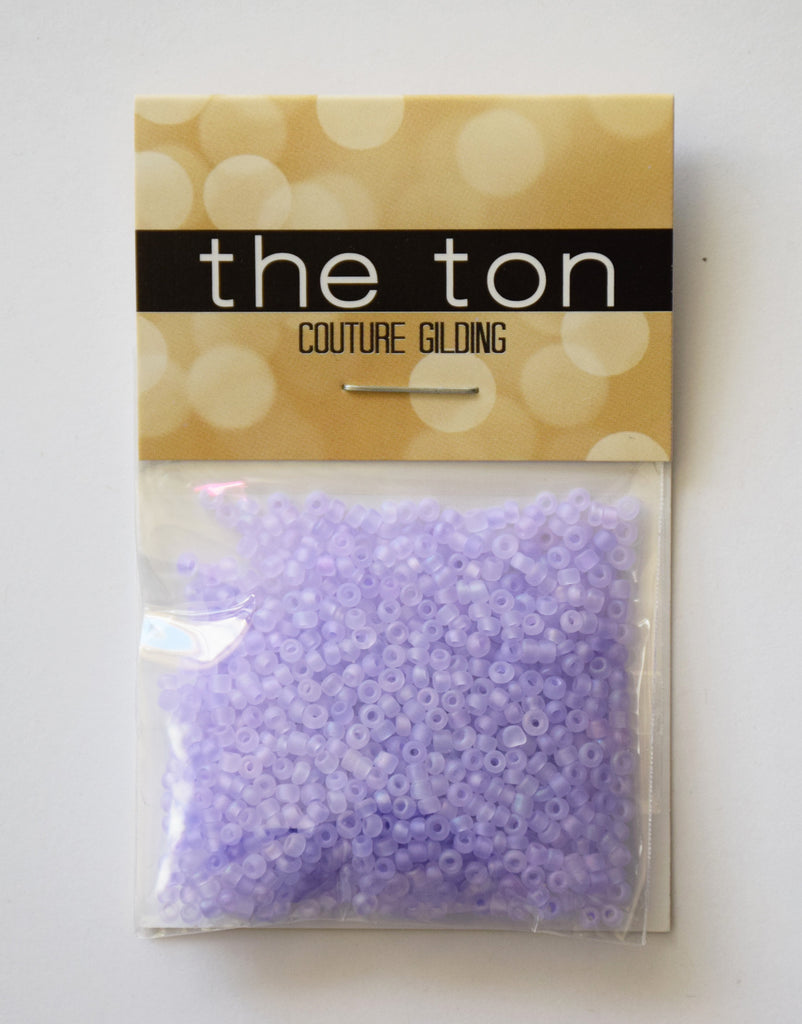 Sweet Lilac Matte Seed Beads