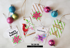 Holiday Chic Tags Stamp Set